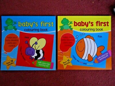 One Baby's First Colouring Book - Brand New