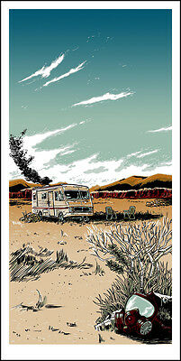 Breaking Bad Poster The Cook Breaking Gifs Mondo Signed & Numbered #/500