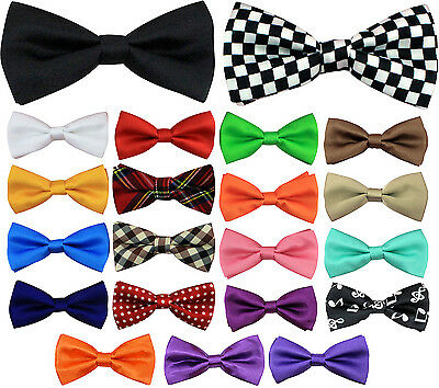 Bow Tie Boys Girls Pre Tied Adjustable Toddler Suit Party Wedding Costume Bowtie