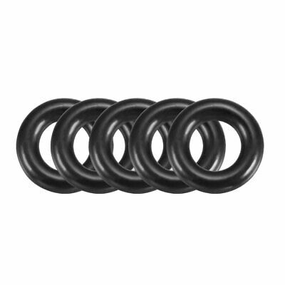 100PCS 13mm OD 3mm Thick Flexible Filter Rubber Oil Seal O Type Ring Washer