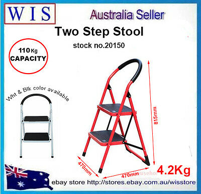 2 Step Folding Ladder,2 Step Stool,2 Step Household Step Ladder,110Kg Load-20150