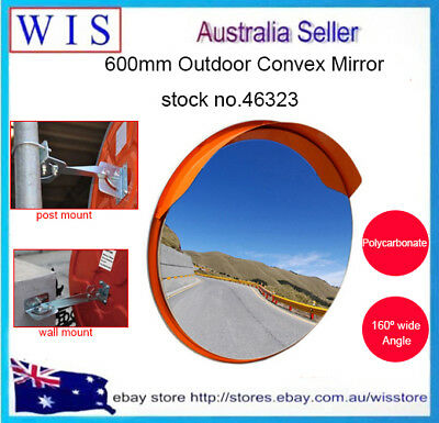 60cm Traffic Blind Spot Convex Mirror,Convex Safety Mirror for Wall & Pole-46323