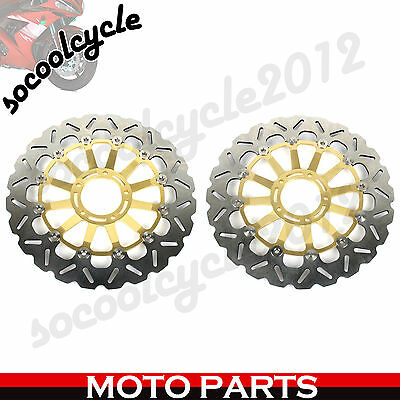 Front Brake Discs Rotors For Ducati 1098 1098S 07 08 1198 09 10 11 Panigale 1199