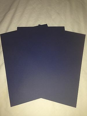 Navy Blue A4 Card Stock 240Gsm  (You Choose Amount) Free Postage