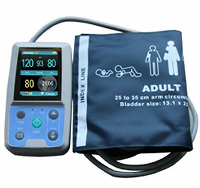 Contec PM50 24H Ambulatory Blood Pressure, Blood Oxygen Saturation(NIBP SPO2 PR)