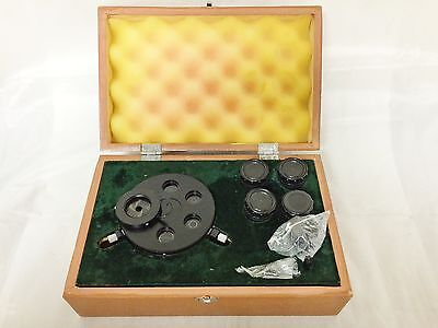 Bausch & Lomb Microscope Phase Contrast Kit - Turret Condenser & 4 Objs.