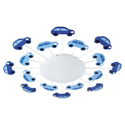 Childrens Car Ceiling or Wall Light-Glows in the dark