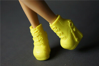 Yellow Shoes Boots Wolf Girl Monster High Doll Create a Monster Child Gifts 186#