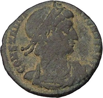 CONSTANTINE I the GREAT Ancient Roman Coin Legion Glory of the Army  i45998