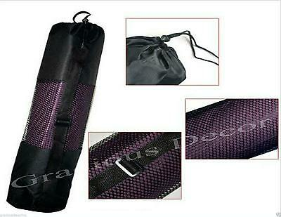 """Orange color 70""""23"""" Yoga Mat Thick Nonslip Pad Exercise Workout Fitness with BAG"""