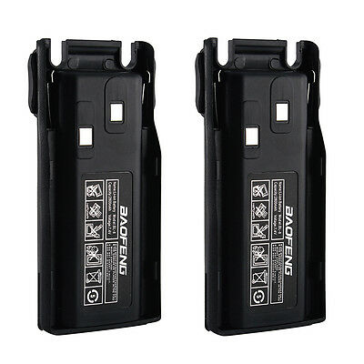 2X Baofeng BL-8 2800mAh 7.4V Li-ion Battery for UV-82 Two Way Radio Transceiver