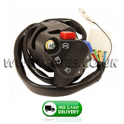 HUSQVARNA TE FE OEM Style Replacement Headlight Horn Kill Switch Button
