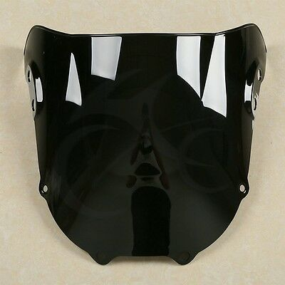 Black  Windscreen Windshield Screen For Honda CBR900RR CBR893RR 1995-1997 1996