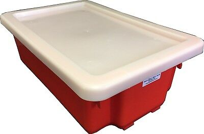 Nally IH052 Plastic lid to suit IH051 Stack and Nest Container