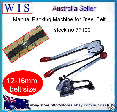 12mm –16mm Steel Strapping Tensioner&Crimper Sealer,Manual Packing Machine-77100