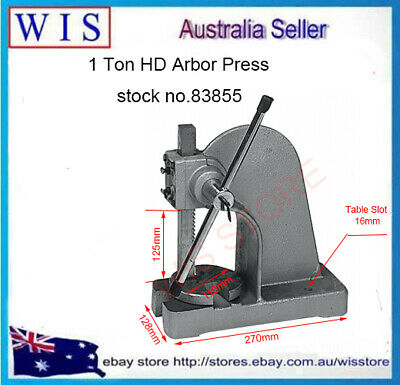 1 Ton Heavy Duty Arbor Press,Cast Iron Frame Mannual Forging Press-83855