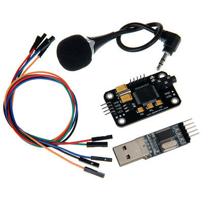 Voice Recognition Module & microphone USB to RS232 TTL Converter Dupont Arduino