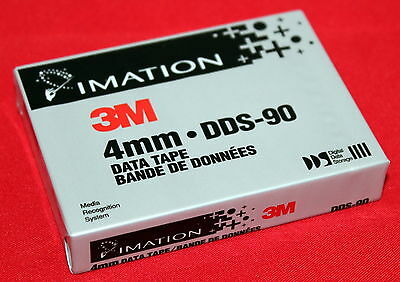 IMATION 3M 4mm X 90M (295 Ft.) DDS-90 DATA TAPE BRAND NEW SEALED 34-8500-6162-2!