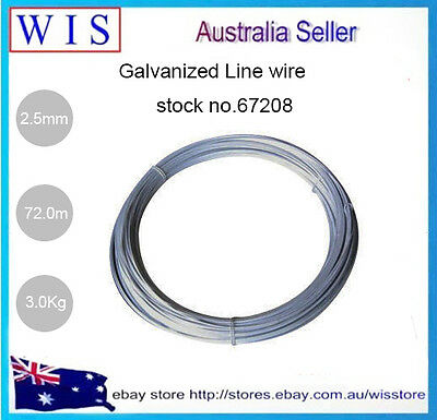 GALVANISED TIE WIRE 2.50mm Galvanized Line Wire for Tensioning or Tying fencing
