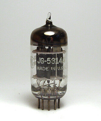 General Electric JG-5814A / 5814 A / E82CC Audio-Röhre, Triple Mica, Preamp Tube