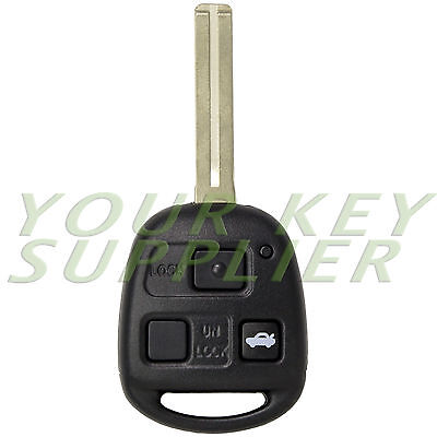 New Keyless Entry Remote Key Fob for ES300 GS300 GS400 IS300 LS400 HYQ1512V