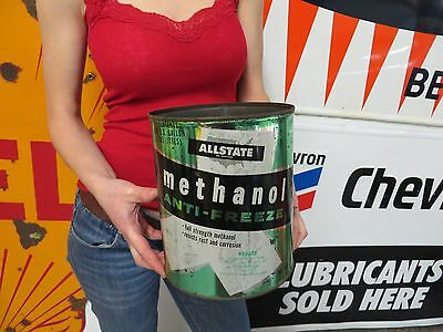 Allstate Methanol Anti Freeze Gas Oil Station Advertising Sign Can Hard to find