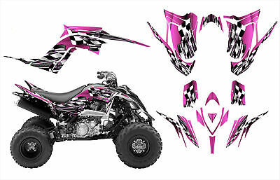 Yamaha Raptor 700 700R graphics 2013 -2017 custom deco kit #2500 Hot Pink