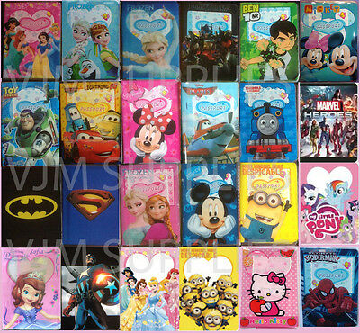 Childrens Passport Cover Case Protector Holder Kids Boys Girls 24 designs NEW