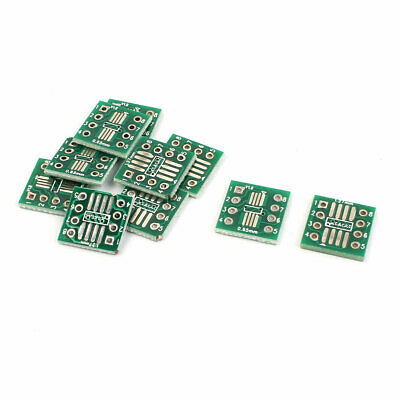 10 Pcs SSOP8 0.65mm SOP8 1.27mm to DIP 8Pin 2.54mm IC PCB Adapter Converter