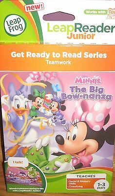 LEAP FROG TAG JUNIOR MINNIE THE BIG BOWNANZA GET READY TO READ SERIES 1-3 YRS