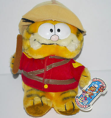 """Garfield and Company Vintage 9"""" Soft Toy/ Plush"""