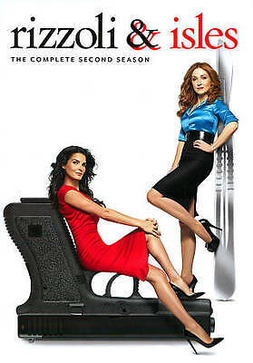 Rizzoli & Isles The Complete Second (two 2) Season DVD Set Brand New