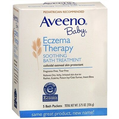 Aveeno Baby Eczema Therapy Soothing Bath Treatment