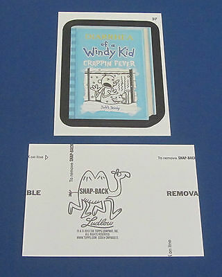 WACKY PACKAGES ANS10 BLACK LUDLOW #37 DIARRHEA OF A WINDY KID   @@ RARE @@