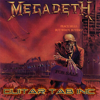 Megadeth Digital Guitar Tab RUST IN PEACE Lessons on Disc Marty Friedman