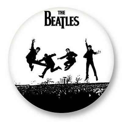 "Pin Button Badge Ø25mm 1"" The Beatles Rock UK Lennon McCartney Harrison Starr"
