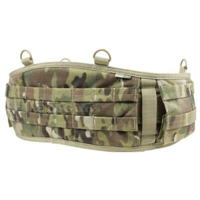 "CONDOR MULTICAM 241 V2 MOLLE Tactical OPS Web Battle Belt Size M Medium 36""-40"""