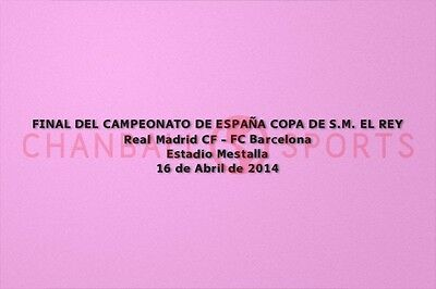 37_Spanish COPA DEL REY (King's Cup) Final Match Details Real Madrid 2014