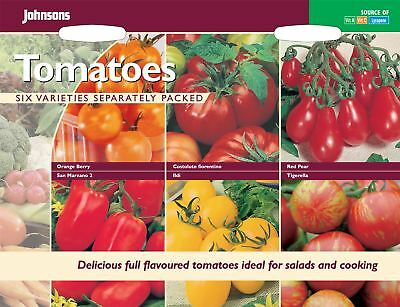 Johnsons Seeds - Pictorial Pack - Vegetable - Tomatoes Collection
