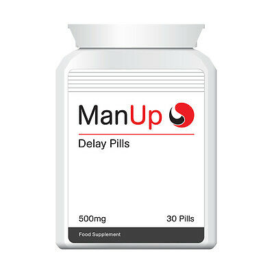 Man Up Delay Pill Stop Premature Ejaculation Enjoy Hours Of Extreme Sex