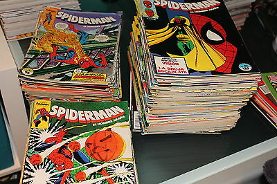 Lote Spiderman volumen 1 del 1 al 180 Forum 203 numeros en total Ver descripcion