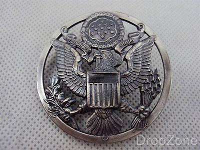 US United States Air Force Cap Badge - NEW in Packet