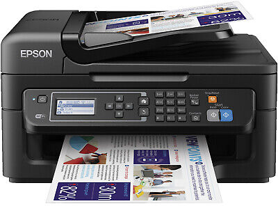 Epson WorkForce WF-2630WF Stampante Fotocopiatrice Fax a Getto Inchiostro Wi-Fi
