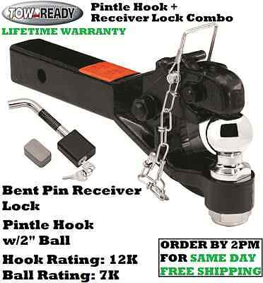 """Tow Ready 38186 Super Titan 3/"""" Receiver Pintle Hook Mounting Plate"""