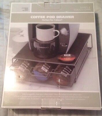 Tassimo Simple Solutions Coffee Pod Drawer Perfect for T-Disc