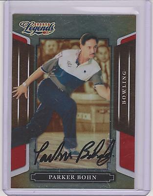 2008 Donruss Legends Parker Bohn Red Autograph Card #37 ~ Bowling ~ Multiples