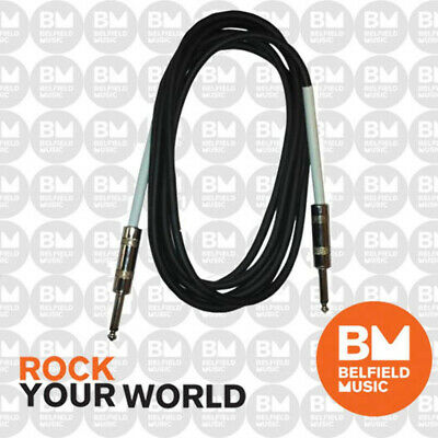 UXL USA-1 Instrument Cable 1m 3ft Guitar Lead USA1 - 1 Metre 3 Foot USA1 - BM