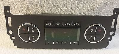 NEW OEM Temperature Control Unit HVAC Fits 07-11 Chevrolet Avalanche 15-74022