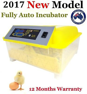 *New Technology* 48 Fully Digital Automatic egg Incubator *Poultry Chicken Duck