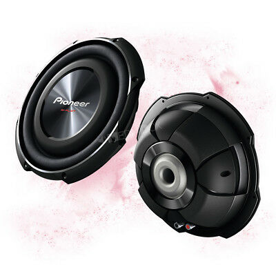 PIONEER TS-SW2502S4 - 25cm/250mm KFZ/PKW Flach Subwoofer Chassis - 1200 Watt MAX